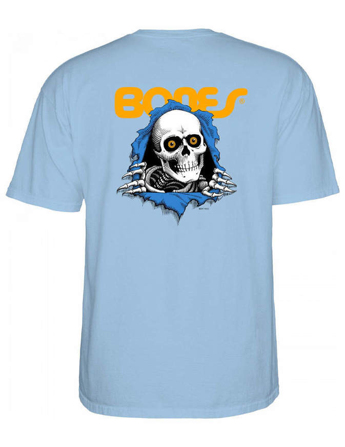 Powell Peralta Ripper T-shirt Uomo Powder Blue