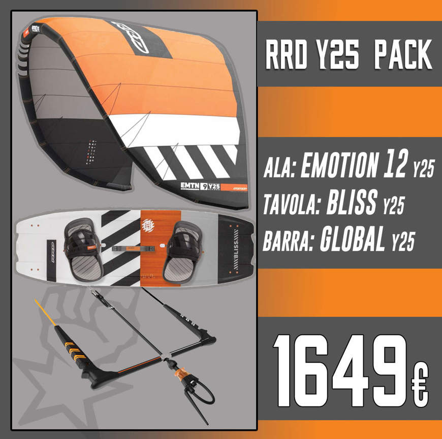 Picture of RRD KITE PACK Vision Mk6 + Placebo V7 + Global Bar V 8.2 + Free RRD Pump