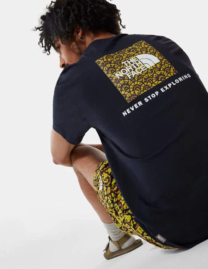 The North Face T-Shirt Uomo Redbox Nera