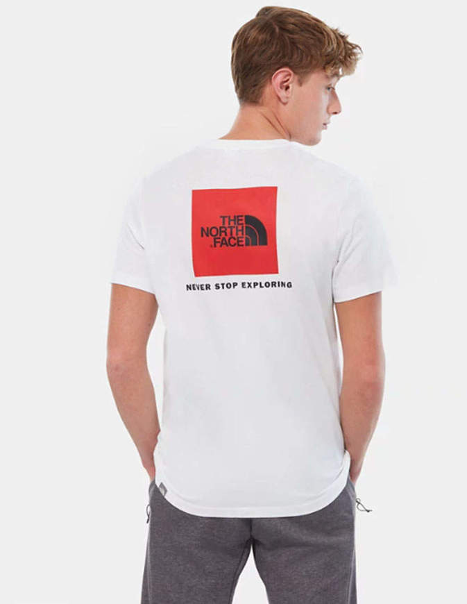 The North Face T-Shirt Uomo Redbox Bianca