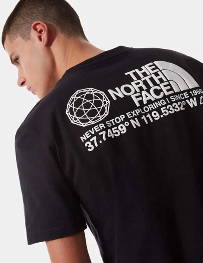 The North Face T-Shirt Uomo Coordinates Nera