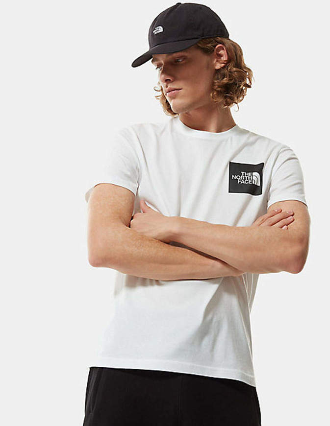 The North Face T-Shirt Uomo Fine Bianca