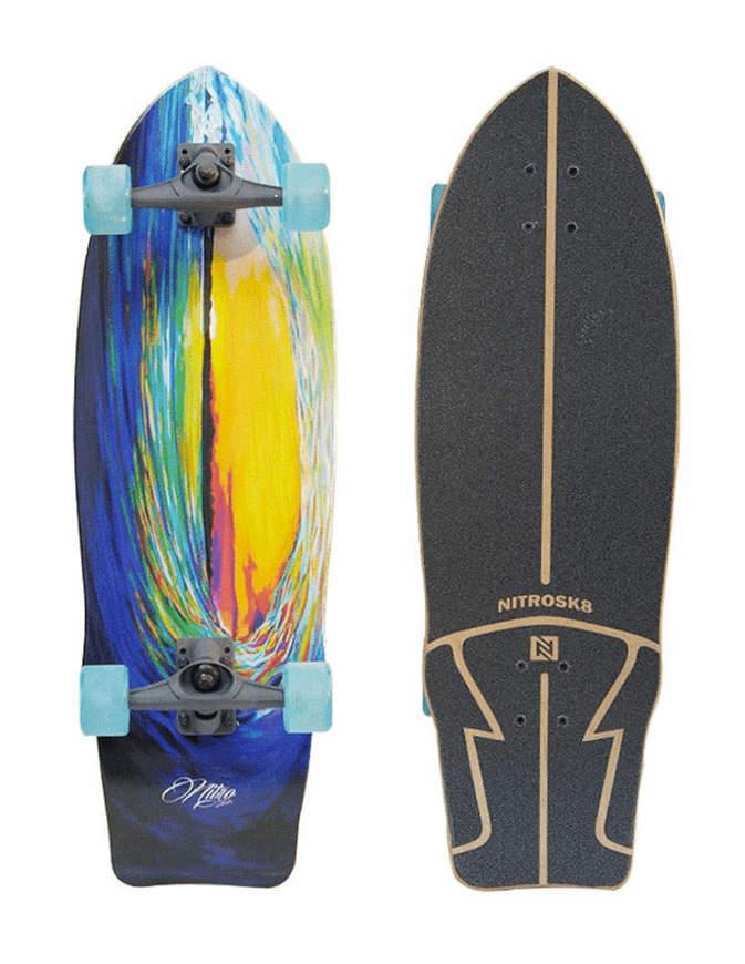 "Surfskate Nitro Wave Sunset 31"" Completo"