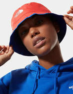 THE NORTH FACE Cappello Reversibile Sun Stash Blu Rosso