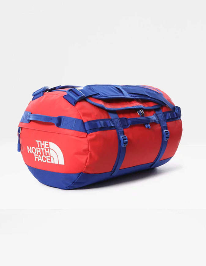 THE NORTH FACE Borsone Base Camp Duffel Small 50 Lt Rosso/Nero