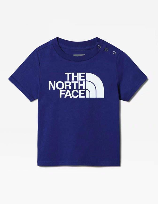 The North Face T-Shirt Neonato Easy Blu