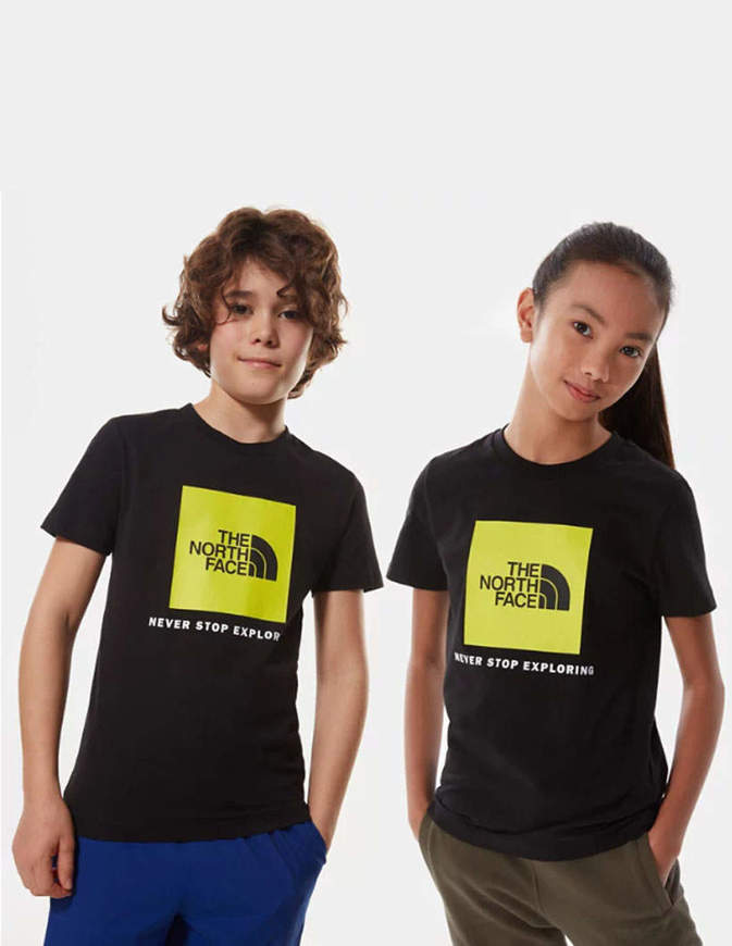 The North Face T-Shirt Bambino Box Nera