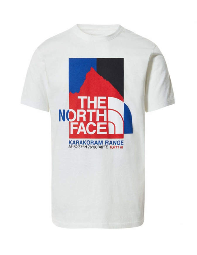 The North Face T-shirt Uomo K2RM Bianca