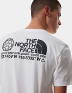 The North Face T-Shirt Uomo Coordinates Bianca