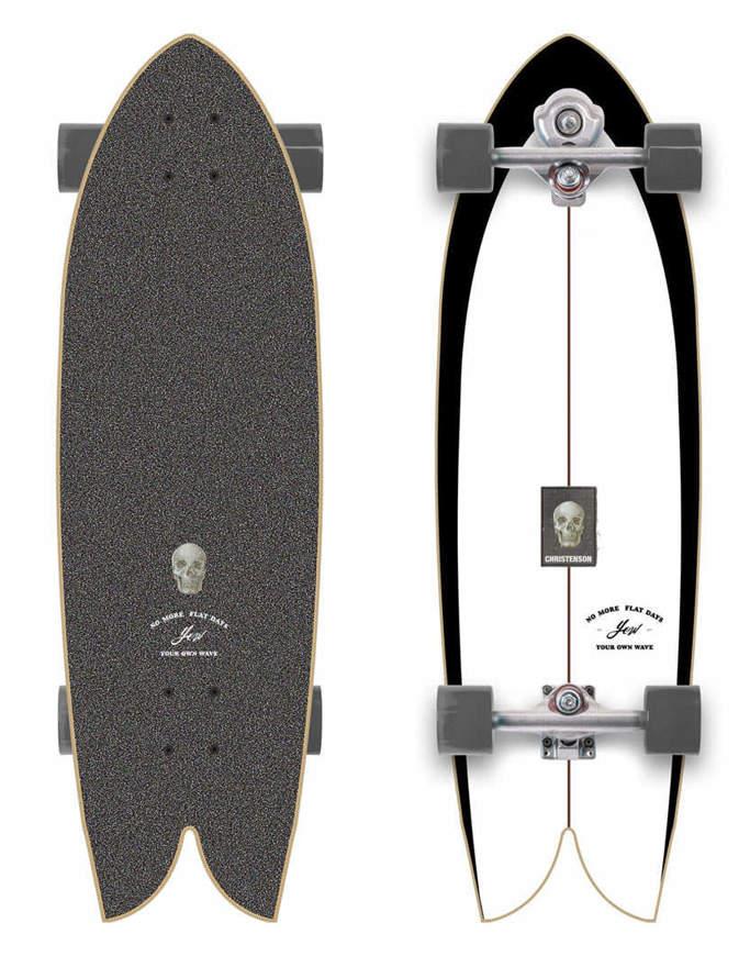 Surfskate YOW x Christenson C-Hawk 33″ Completo