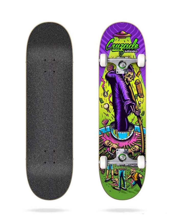 "Skateboard Cruzade Deathskull 8.25"" Completo"