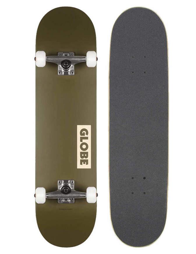 """Skateboard Globe Goodstock 8.25"""" Verde Completo"""