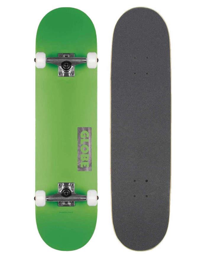 """Skateboard Globe Goodstock 8.0"""" Neon Green Completo"""