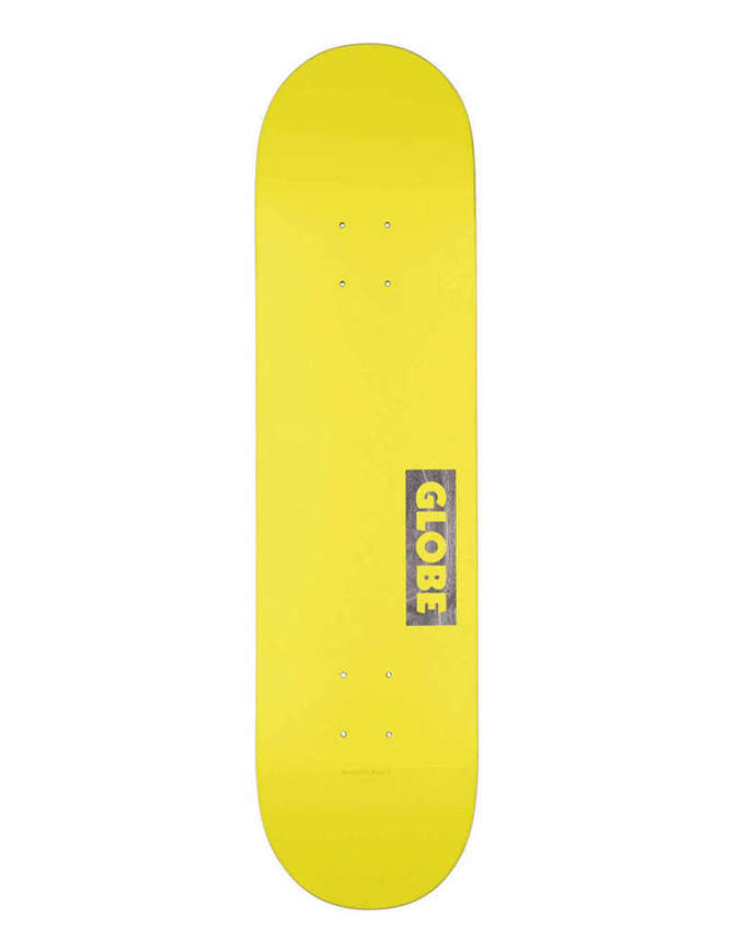 "Skateboard Deck Globe Goodstock 7.75"" Giallo"