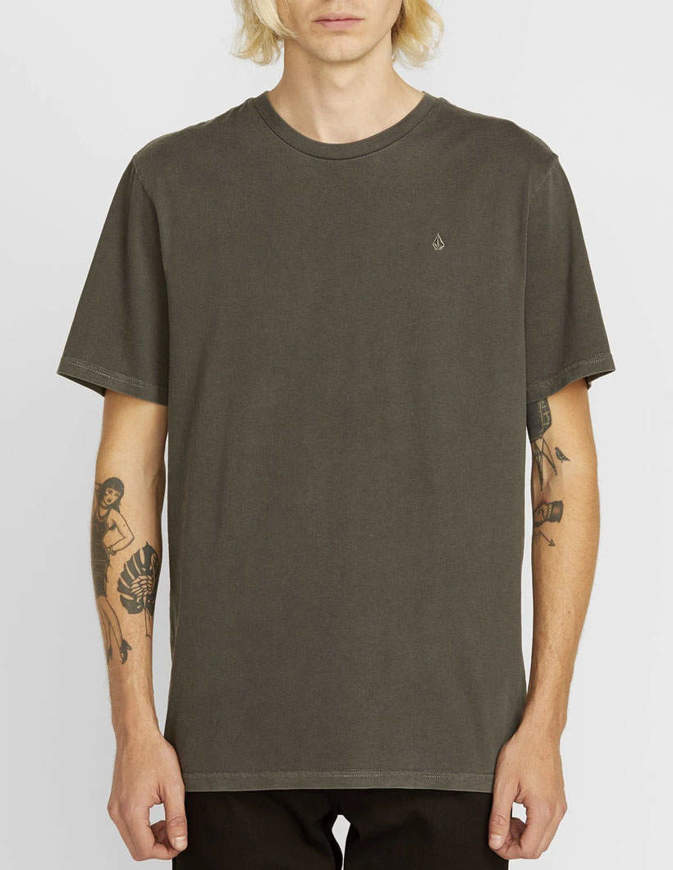 Volcom T-Shirt Solid Stone Nera