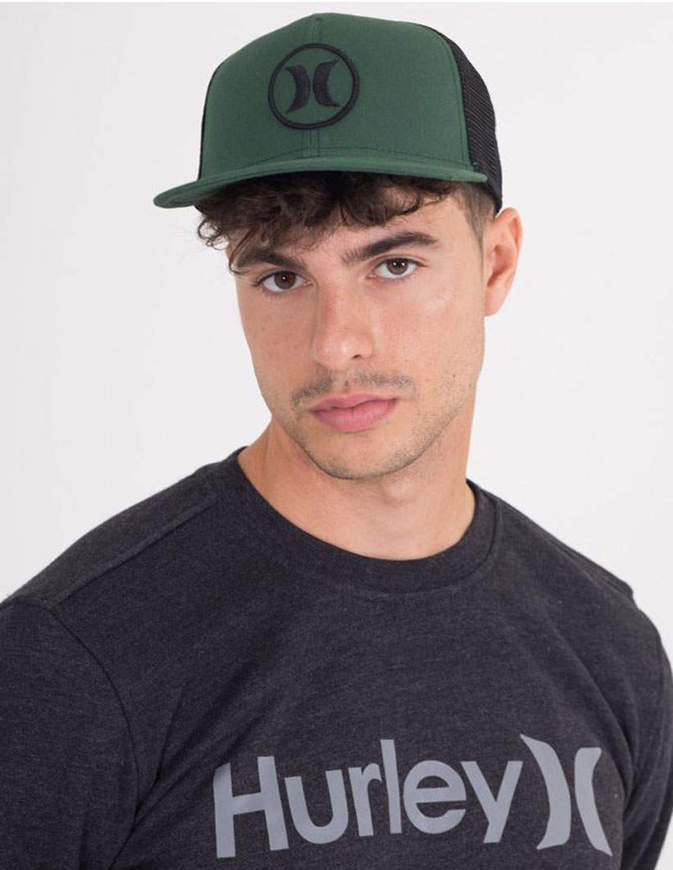 Hurley Cappello Circle Staple Verde