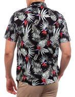 Hurley Camicia Exotic Stretch Nera