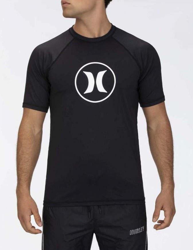 Hurley Raglan Surf Shirt Nera
