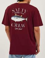 SALTY CREW T-shirt Big Blue Premium Rossa
