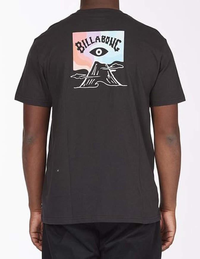 BILLABONG T-shirt Eyesolation Arch Nera