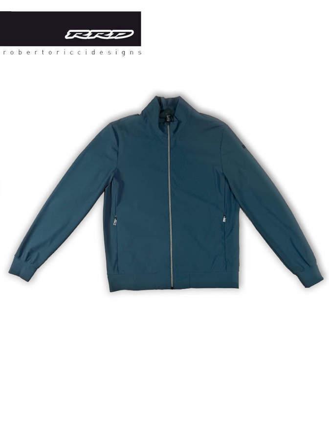 RRD Giacca Summer Fleece Zip Blu