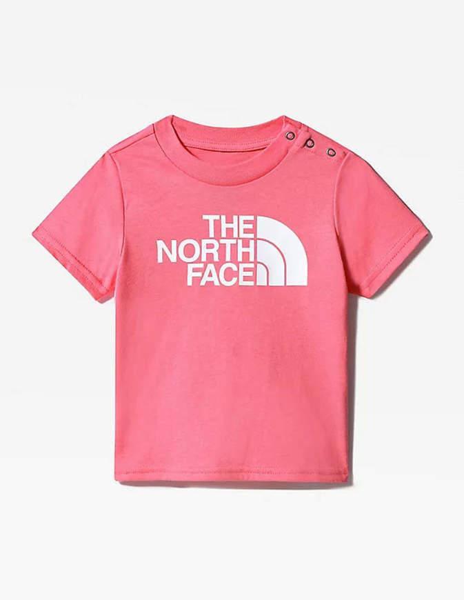 The North Face T-Shirt Neonato Easy Rosa