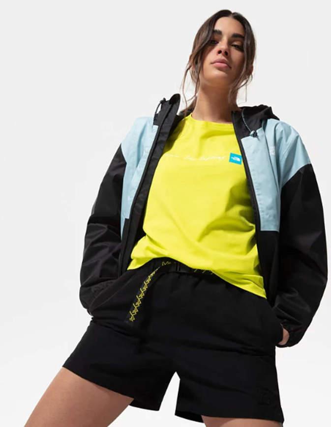 The North Face Pantaloncini Donna con Cintura Class V Neri