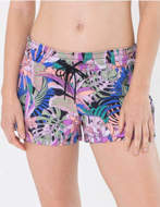 Hurley Pantaloncino Donna Supersuede Palm Paradise Volley