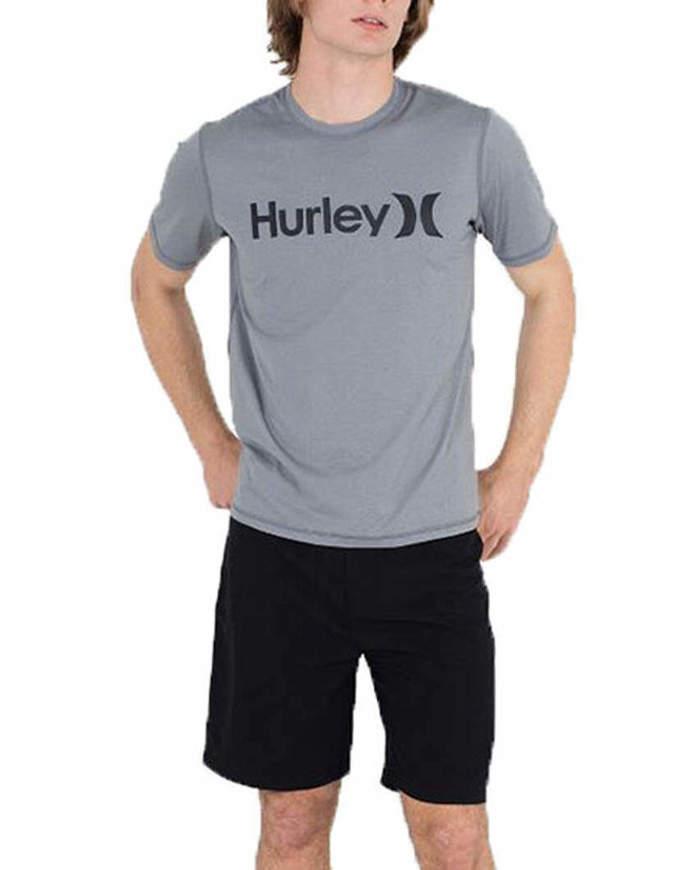HURLEY T-Shirt O&O Hybrid Grigia