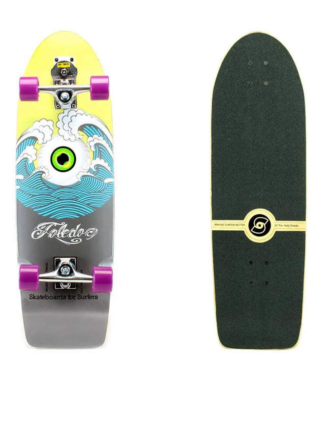 Surfskate SMOOTHSTAR Holy Toledo 33""