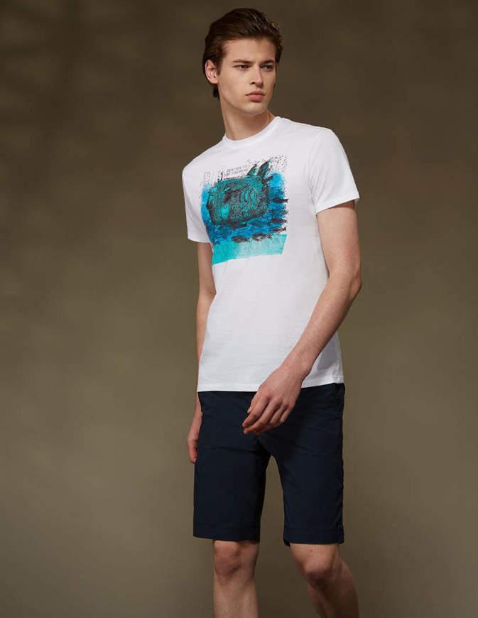 RRD Pantaloncini Techno Wash Chino Short Blu