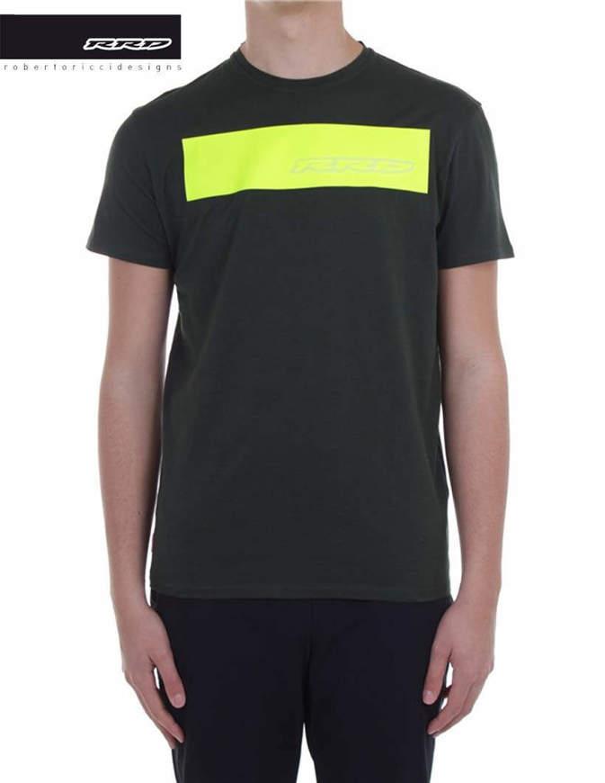 RRD T-Shirt Shirty Logo Fluo Verde