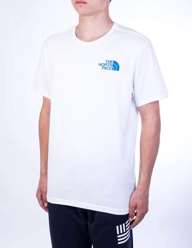 The North Face T-Shirt Ic Climb Grapich Tee Bianca