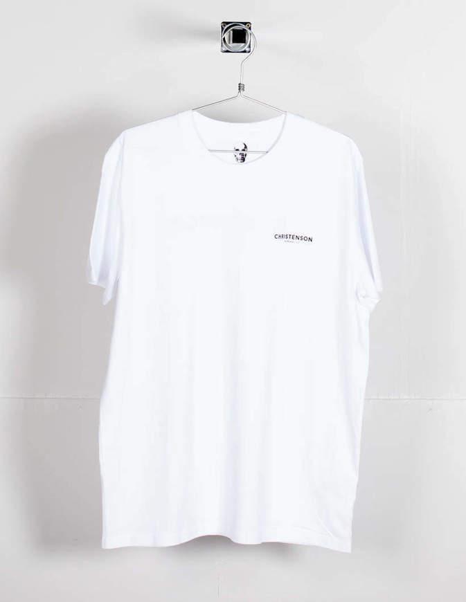 Christenson T-Shirt Surfboards Logo Bianca