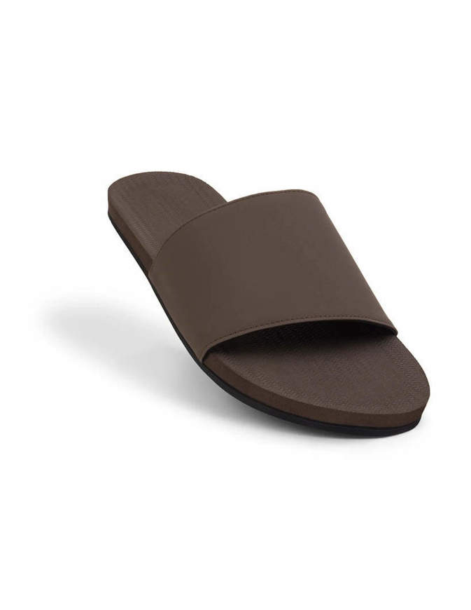 INDOSOLE Men's Essntls Slides Soil