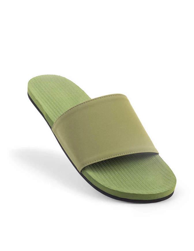 INDOSOLE Men's Essntls Slides Vintage Leaf