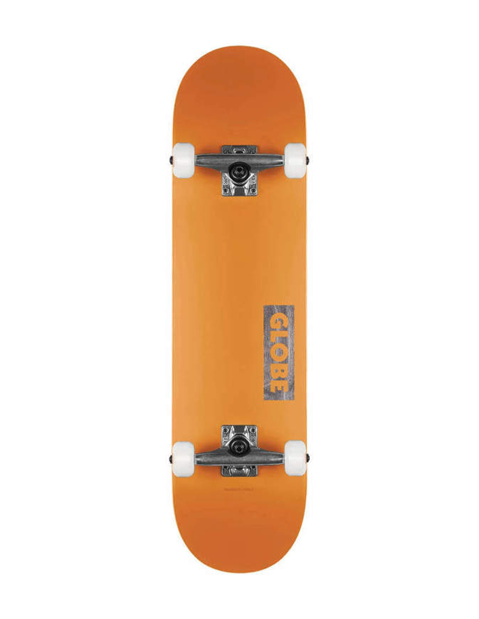 """Skateboard Globe Goodstock 8.125"""" Arancione Completo"""