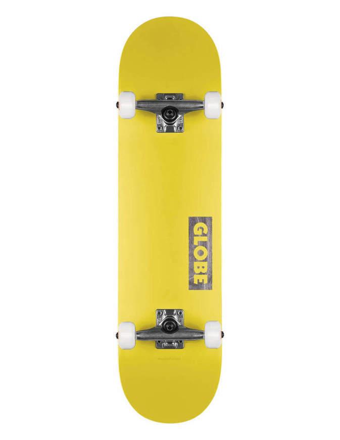 """Skateboard Globe Goodstock 7.75"""" Giallo Completo"""