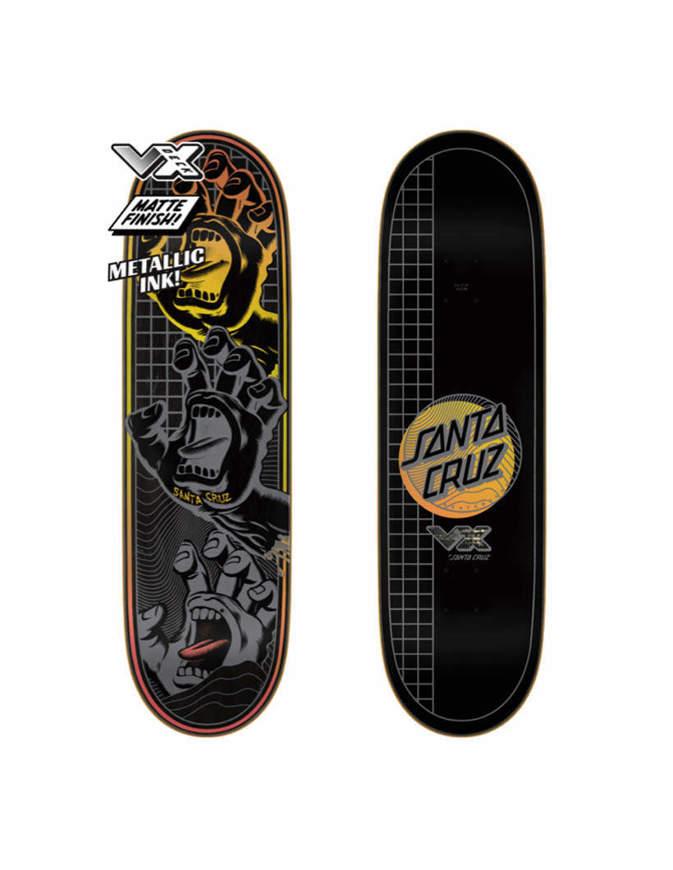 "Skateboard Deck Santa Cruz Transcend Hands VX 8.8"" x 31.95"""