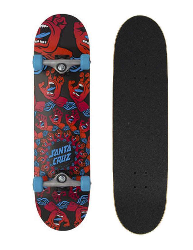 "Skateboard Santa Cruz Mandala Hand Full Sk8 8"" Completo"