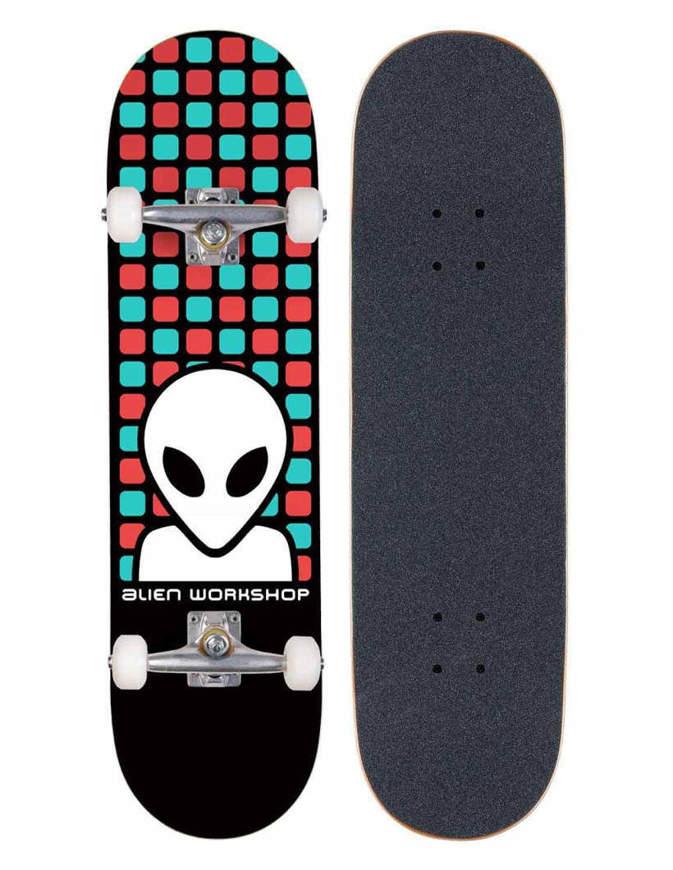 "Skateboard Alien Workshop Matrix Standard 8"" Multi Completo"