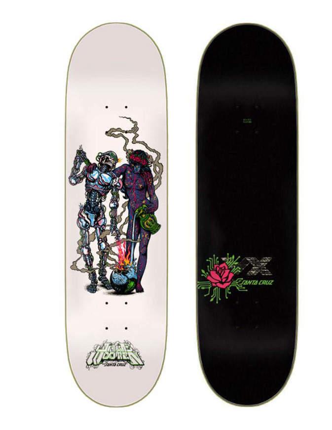 Skateboard Deck Santa Cruz Surprise New Pro TBA VX Deck 8.5''