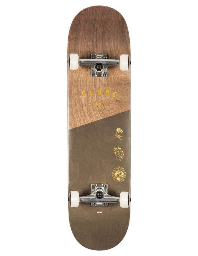 "Skateboard Globe G1 Insigna 8.25"" Completo"