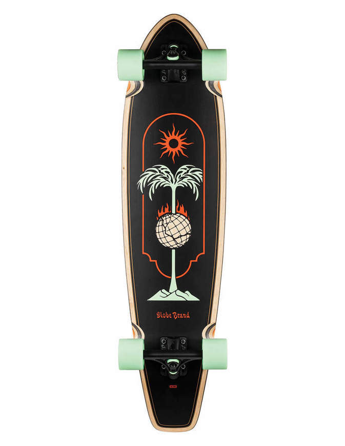 Globe Longboards The All Time Skewered Completo