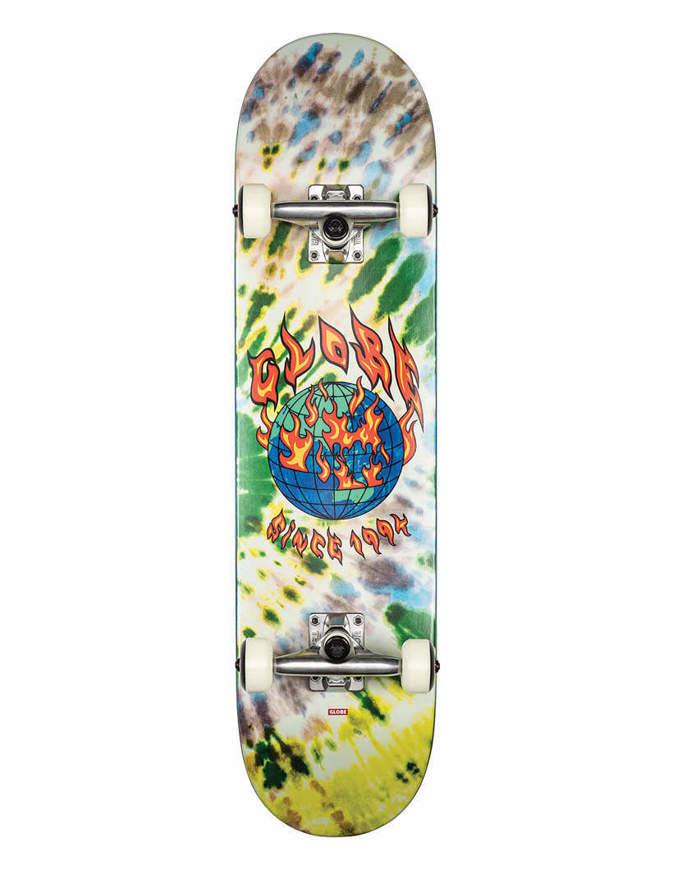 "Skateboard Globe G1 Ablaze 7.75"" Completo"