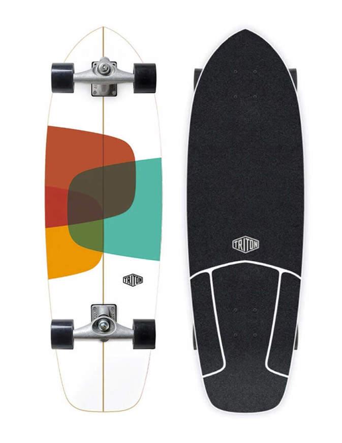 """TRITON Surfskate CX Raw 32"""" Completo"""