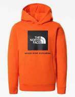 The North Face Felpa con Cappuccio Ragazzo New Box Arancione