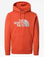 The North Face Felpa con Cappuccio Uomo Drew Peak Arancione