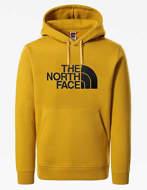 The North Face Felpa con Cappuccio Uomo Drew Peak Gialla