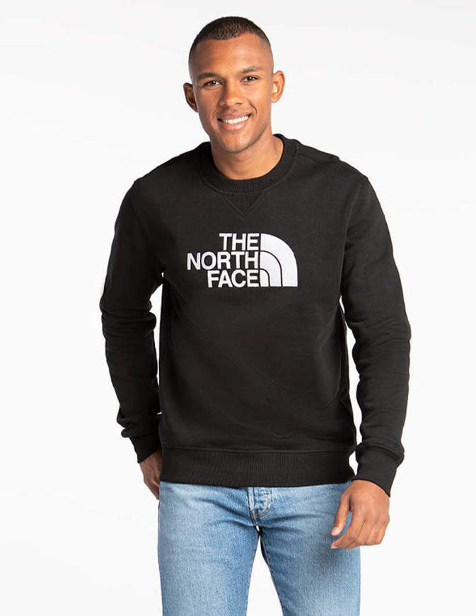 The North Face Felpa con Cappuccio Uomo Drew Peak Nera